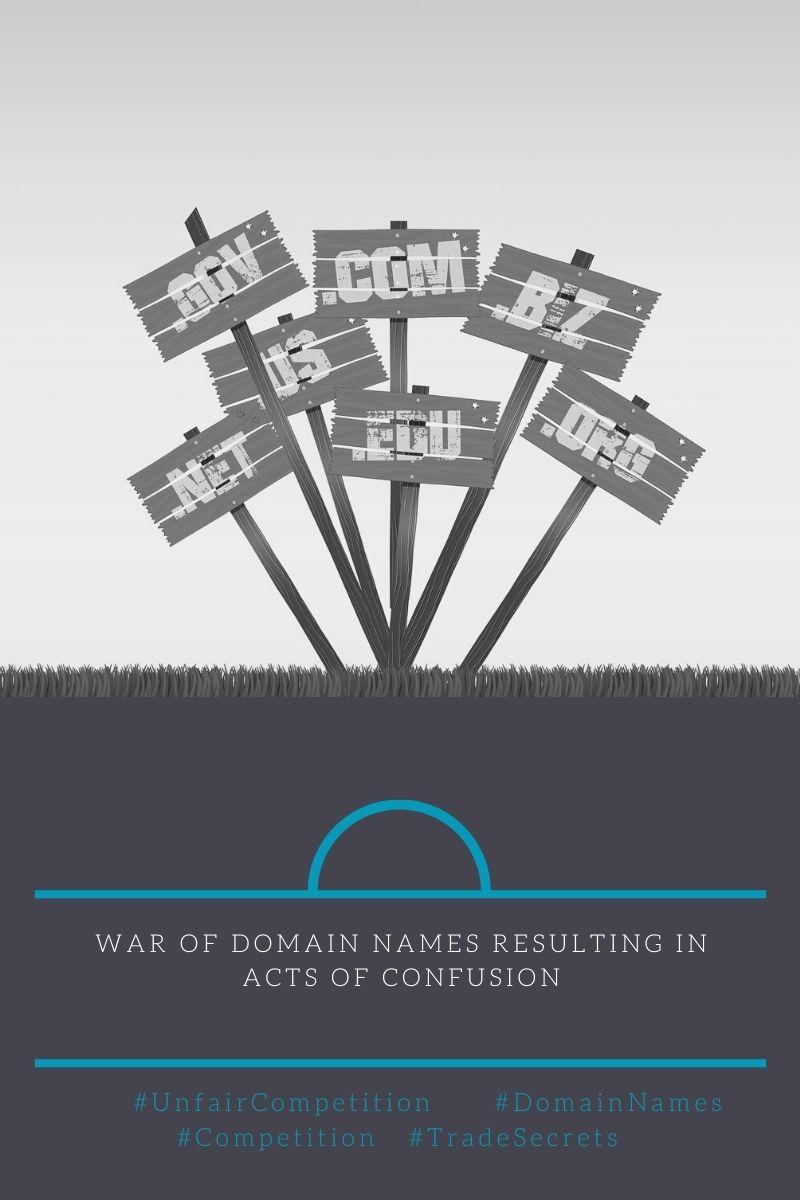 Imagen war of domain names
